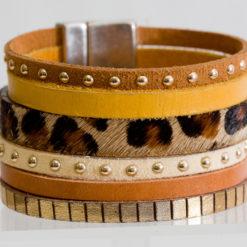 Bracelet Femme Fauve 02