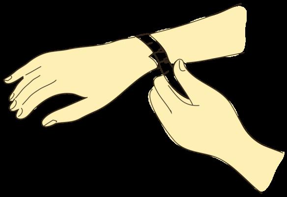 """Guide des tailles """"Bracelets"""""""