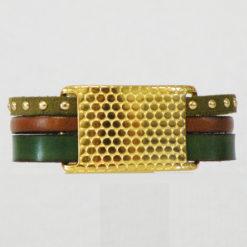 bracelet femme  cuir  Belle Marianne 01