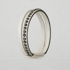 bracelet femme cuir blanc et strass ethnique 13