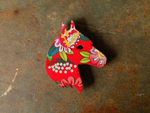 Magnet tête de cheval motif gypsy