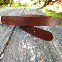 ceinture calypso couleur chocolat
