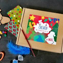 kit créatif spécial noël made in France de fabrication artisanale