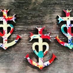 variation croix de Camargue motif Amarillo